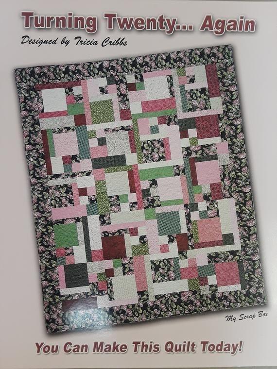 Modern turning twenty again quilt pattern booklet tricia cribbs 11 Elegant Turning Twenty Again Quilt Pattern Gallery