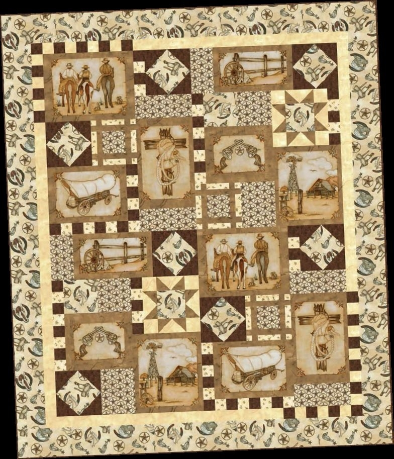 New blank quilting western album free project sheet 11 New Blank Quilting Fabric Inspirations