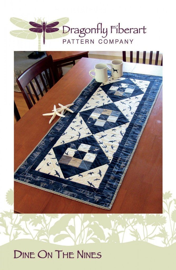 New dine on the nines with images dining book quilt wall 10 New Quilting Books And Patterns Inspirations