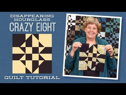 New make a disappearing hourglass crazy eight quilt with jenny 11 Unique Crazy Eight Quilt Pattern Gallery