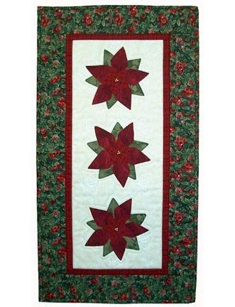 New poinsettia quilts poinsettias quilt pattern panel quilt 11 Stylish Poinsettia Quilt Pattern Inspirations