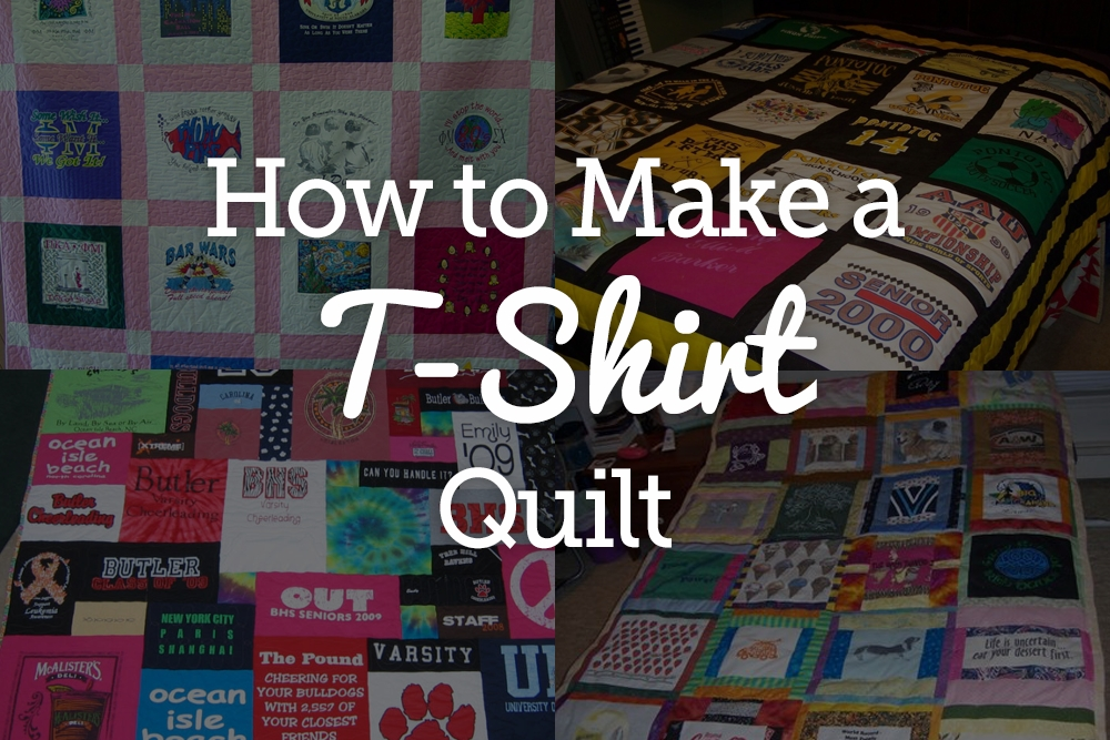 New quick and easy t shirt quilt tutorial national quilters circle 9 Modern T Shirt Quilt Pattern Easy Gallery