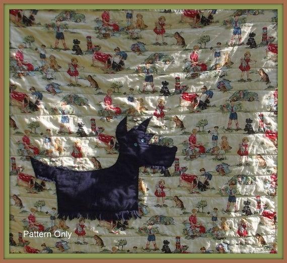 New scottie dog quilt pattern 9 Beautiful Scottie Dog Quilt Pattern Gallery