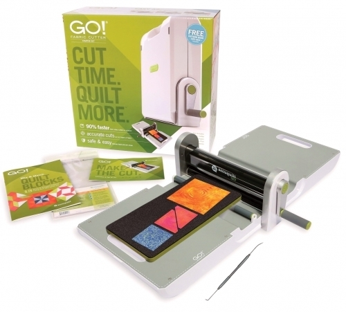 Stylish accuquilt go 55100s fabric cutter starter set 9 Elegant Fabric Cutter For Quilting Gallery