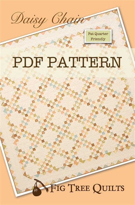 Stylish daisy chain downloadable 9 Modern Fig Tree Daisy Chain Quilt Pattern Inspirations