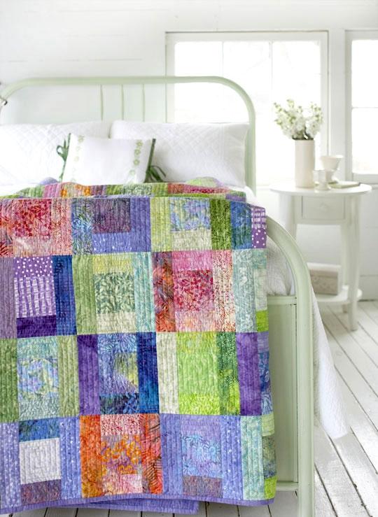 Stylish free batik quilt patterns allpeoplequilt 10 Unique Quilt Patterns Using Batiks