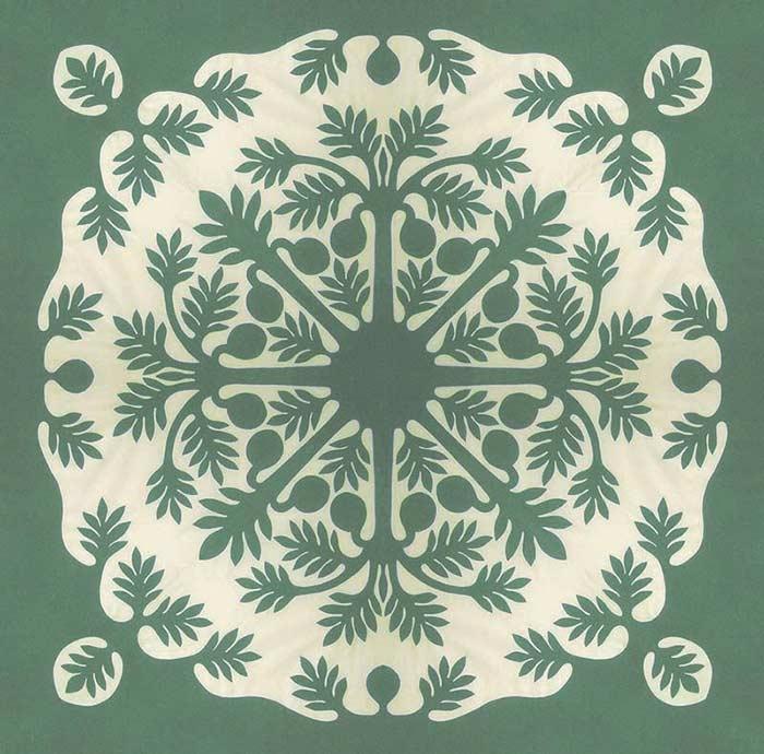 Stylish hawaiian quilt patterns pacific rim quilt company 10 Cozy Hawaiian Quilting Patterns