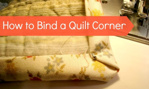 Stylish how to bind a quilt corners 10 Beautiful Sewing Binding On Quilt Corners