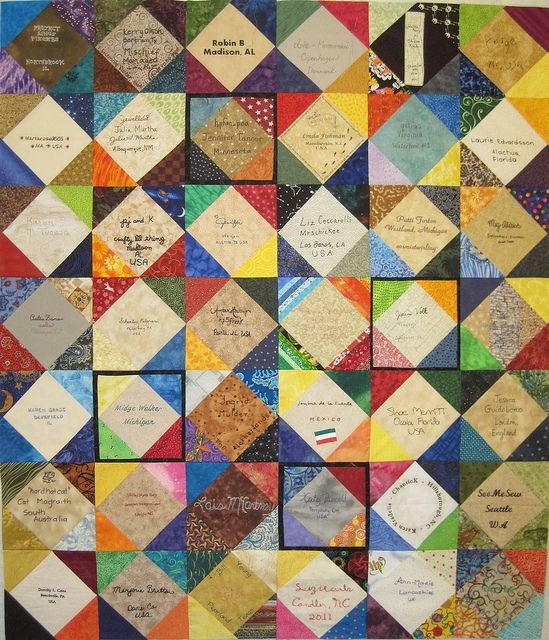 the project of doom signature quilt signature quilts Stylish Signature Quilt Block Pattern Inspirations
