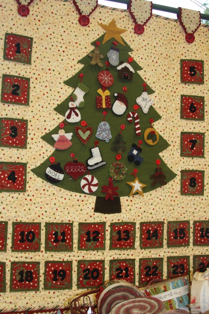 Unique new patterns and kits american quilting 9 Cool Quilted Advent Calendar Pattern Inspirations