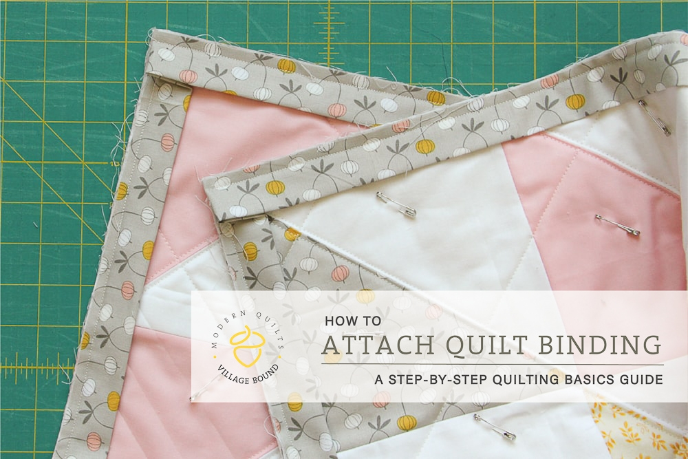 Unique quilt binding attaching the binding village bound quilts 10 Beautiful Sewing Binding On Quilt Corners