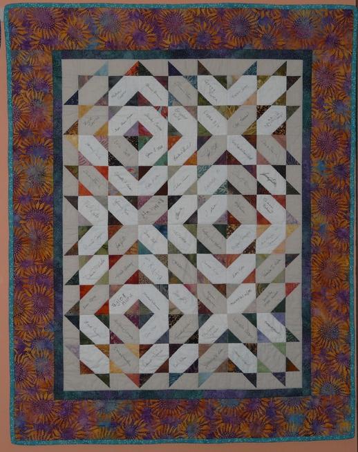 Unique signature quilt for lora occasionalpiece quilt Stylish Signature Quilt Block Pattern Inspirations