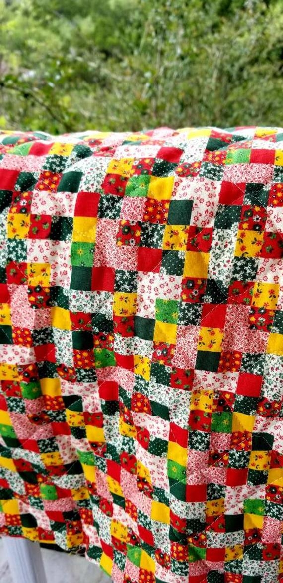 vintage quilted fabric the yard 11 Interesting Vintage Quilt Fabric Gallery