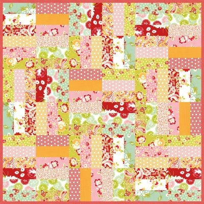 Cozy pin on a quilty kind of day 10 Beautiful Fat Quarter Jelly Roll Quilt Inspirations