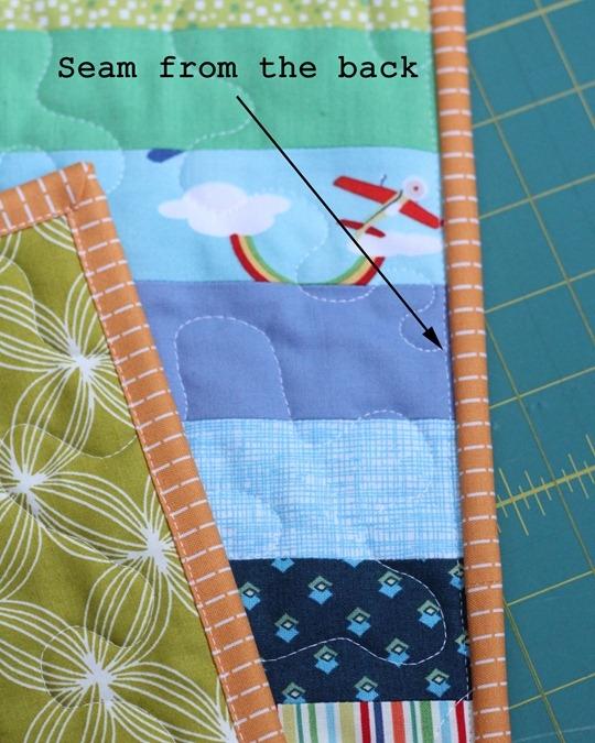 Elegant machine binding tutorial cluck cluck sew 9 Elegant Sewing Edging On Quilt Inspirations