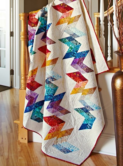 New decorating with quilts allpeoplequilt 11 Modern Stylish Quilting Treasures Fabric