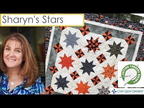 sharyns stars strip presentation cozy quilt designs 10 Unique Cozy Quilt Designs Patterns Gallery