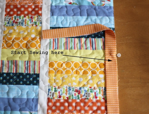 Stylish machine binding tutorial cluck cluck sew 9 Elegant Sewing Edging On Quilt Inspirations