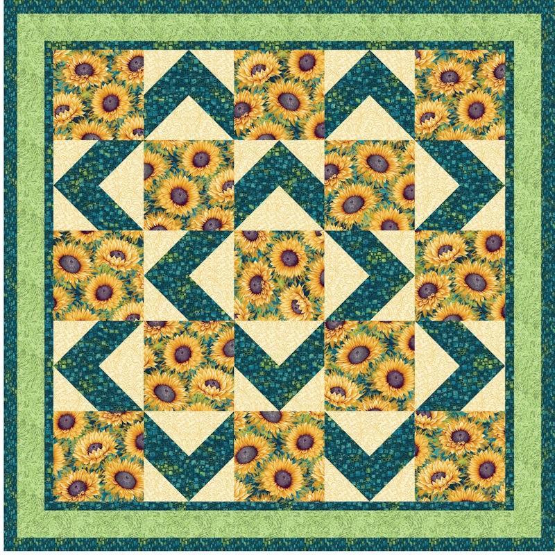 walk about pattern optional download 11 Modern Quilt Patterns Using 4 Fabrics Gallery