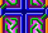 0088 celtic cross 09 quilt pattern celtic knotwork quilt Modern Celtic Cross Quilt Pattern Gallery