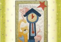 10 applique nursery rhyme patterns mother crinolinerose Interesting Nursery Rhyme Quilt Patterns Inspirations