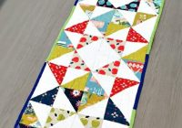 10 free table runner quilt patterns youll love Modern Quilted Table Runner Patterns Gallery