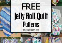 100 free jelly roll quilt patterns tutorials jelly roll 10 Modern Quilt Pattern Jelly Roll Inspirations