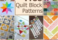 100 free quilt blocks the sewing loft Cozy Quilting Blocks Patterns Gallery