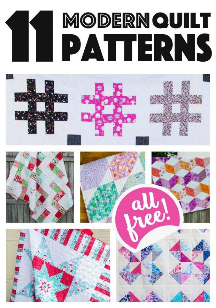 Permalink to Modern Modern Quilt Patterns For Beginners