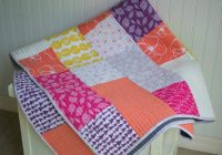 11 modern quilt patterns for you to sew all easy and free Modern Patchwork Quilt Patterns Inspirations