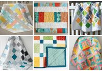 15 ba quilt patterns that will melt your heart ideal me Elegant Triangle Baby Quilt Pattern Inspirations