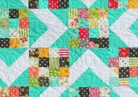 15 free quilt patterns that use precuts quilts jellyroll Unique Easy Patchwork Quilt Patterns Free