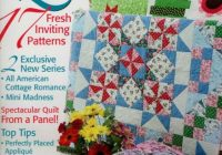 17 fresh inviting quilt patterns cottage romance all american pattern magazine Cozy The Quilt Pattern Magazine