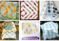 18 easy ba quilt patterns to make for your pregnant Unique Patchwork Baby Quilt Patterns Inspirations
