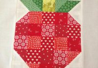 21 cute fruit projects to sew quilting quilt blocks Unique Arts And Crafts Quilt Patterns Inspirations