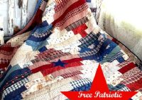 21 free red white and blue quilt patterns jacquelynne steves Elegant Patriotic Quilts Patterns