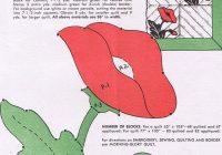 284 best flower quilt images on pinterest flower quilts Cool Vintage Poppy Quilt Pattern