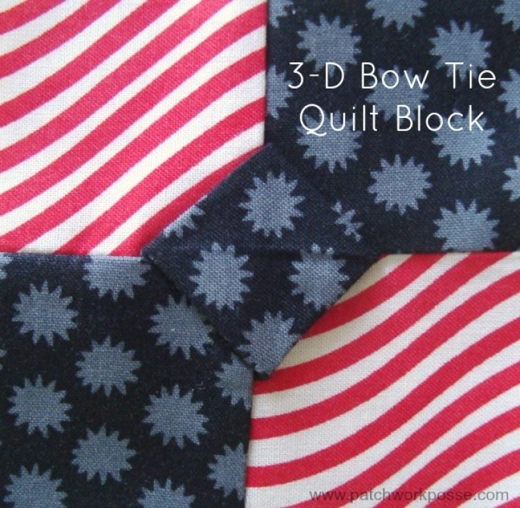 Permalink to 11 Cool Dimensional Bow Tie Quilt Pattern Inspirations
