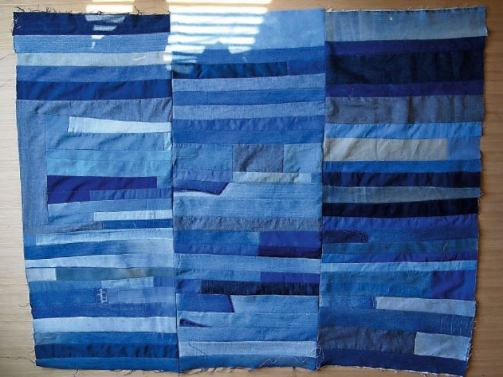 Permalink to Stylish Denim Patchwork Quilt Patterns Inspirations