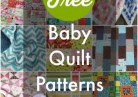 40 free ba quilt patterns quilty things free ba Unique Patchwork Baby Quilt Patterns Inspirations
