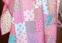 45 easy beginner quilt patterns and free tutorials Cool Beginner Patchwork Quilt Patterns Gallery