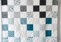 45 easy beginner quilt patterns and free tutorials polka Elegant Quilts For Beginners Quilt Patterns