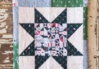 45 easy beginner quilt patterns and free tutorials polka Stylish Patchwork Quilt Patterns Free Inspirations