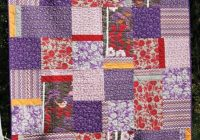 45 free easy quilt patterns perfect for beginners page 2 Free Easy Patchwork Quilt Patterns Inspirations