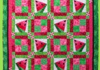 6006 crazy watermelon quilt pattern 6006 Unique Watermelon Quilt Pattern Inspirations
