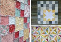 8 easy and free layer cake quilt patterns Stylish Quilt Patterns For Layer Cakes By Moda Gallery
