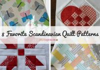 8 favorite scandinavian quilt patterns seams and scissors Interesting Norwegian Quilt Patterns