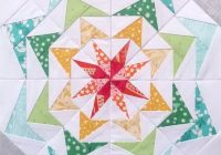 80s geese 250 9 inch quilt block scrap friendly modern star quilt pattern paper piecing quilt pattern pdf instant download Elegant 9 Inch Quilt Block Patterns Gallery