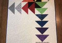 a contemporary version of the flying geese quilt modern Interesting Quilting Flying Geese Pattern Gallery
