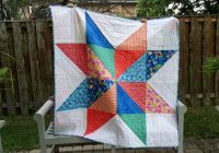 a quilt for my grandma sewn 3 generations thread Stylish Giant Vintage Star Quilt Gallery